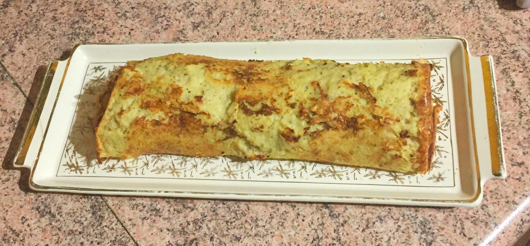 IMG 1074 - Roulé de pommes de terre au jambon et à la mozzarella (recette Companion)