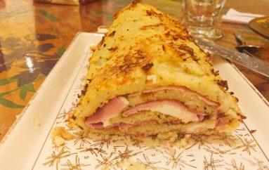 Roulé de pommes de terre au jambon et à la mozzarella (recette Companion)