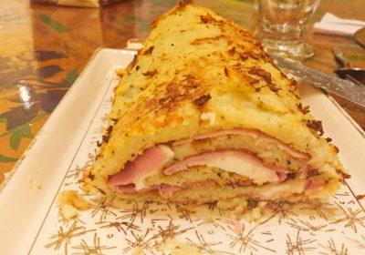 IMG 1075 400x280 - Roulé de pommes de terre au jambon et à la mozzarella (recette Companion)