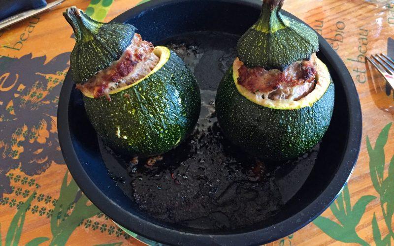 Courgettes farcies (recette Companion)