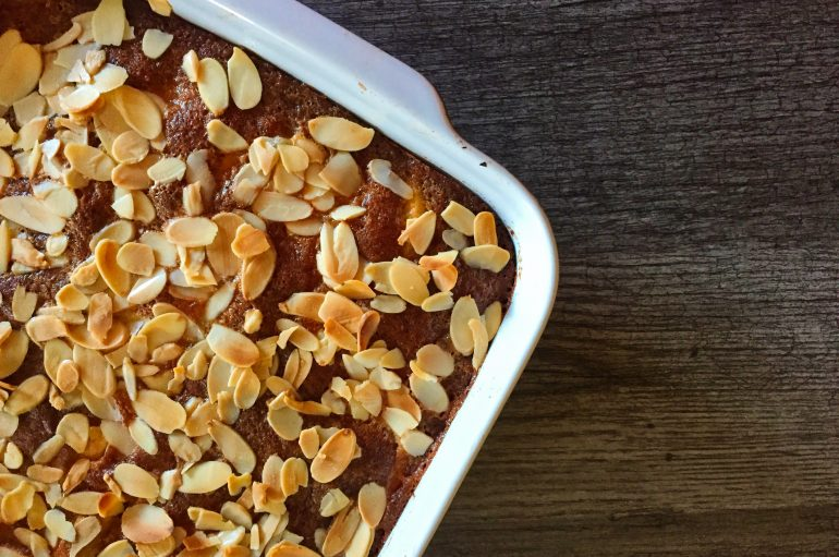 Gâteau d'Eve (pommes / amandes)