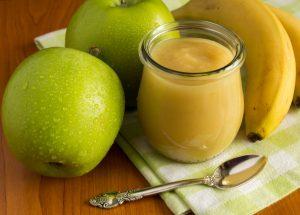 compote pommes bananes 300x215 - Compote pommes / bananes / vanille (recette Companion)