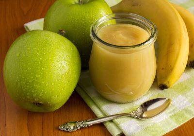 compote pommes bananes 400x280 - Compote pommes / bananes / vanille (recette Companion)