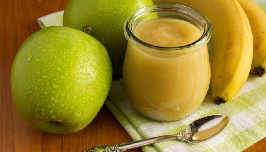 Compote pommes / bananes / vanille (recette Companion)