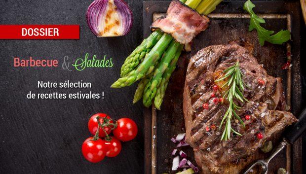dossier barbecue salades 620x353 - Dossier : Fruits et légumes de saison au mois d'août