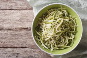 f1c77a421f7dc5838d4f6fc3e8 AzFkZjc0ZmMzNGZl useful raw zucchini pasta in a bowl close up horizontal top vie 300x200 - Useful raw zucchini pasta in a bowl close up. horizontal top vie