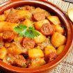 pommes de terre au chorizo 105x105 - Compote pommes / cannelle (recette Companion)
