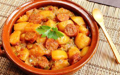 Pommes de terre au chorizo (recette Companion)