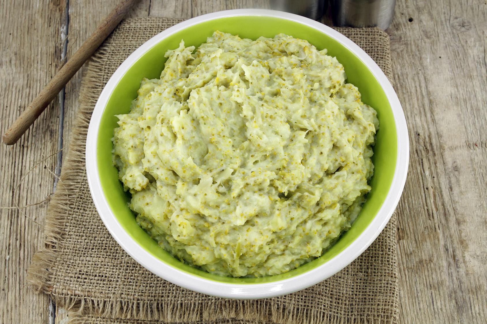 purre pomme de terre brocolis - Purée de brocolis et pommes de terre (recette Companion)