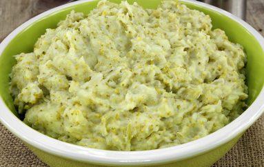 Purée de brocolis et pommes de terre (recette Companion)
