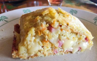 Roulé aux pommes de terre façon tartiflette (recette Companion)