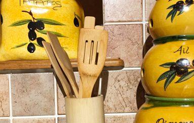 On a testé : Les ustensiles de cuisine en bambou Artecsis