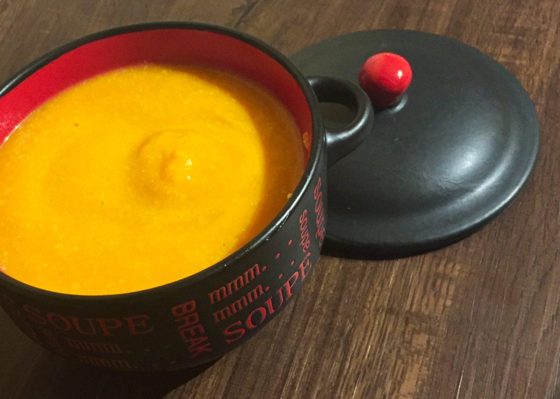 IMG 1724 - Velouté de carottes au Brie (recette Companion)