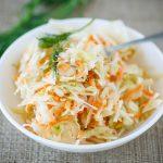 coleslaw2 150x150 - Coleslaw (salade chou / carotte)