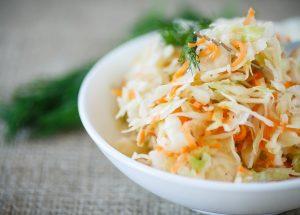 coleslaw3 300x215 - Coleslaw (salade chou / carotte)