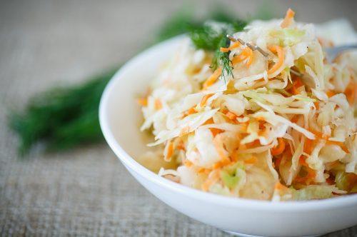 coleslaw3 500x332 - Coleslaw (salade chou / carotte)
