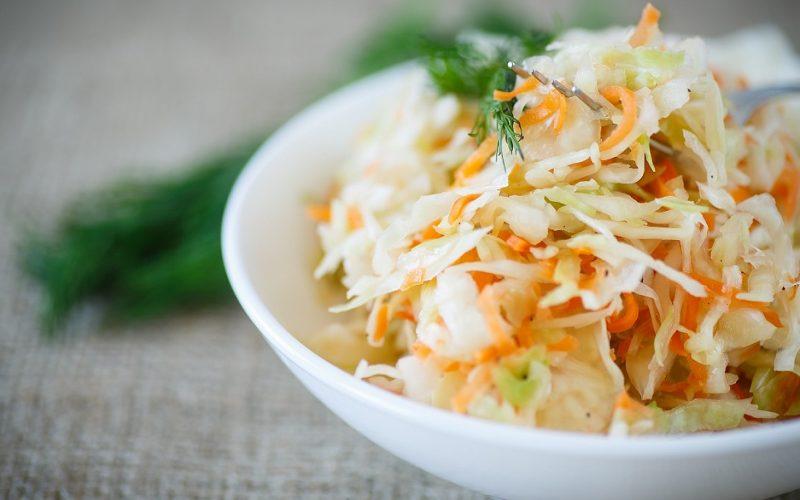 Coleslaw (salade chou / carotte)