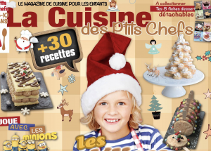 cover lcdpc 300x215 - La Cuisine des P'tits Chefs - N°2 Spécial Fêtes