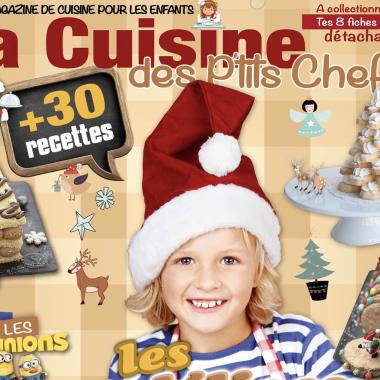 cover lcdpc 380x380 - La Cuisine des P'tits Chefs - N°2 Spécial Fêtes