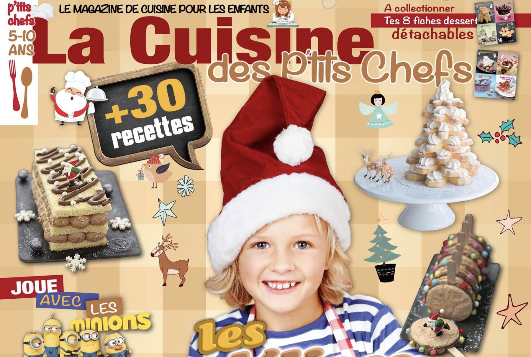 cover lcdpc - La Cuisine des P'tits Chefs - N°2 Spécial Fêtes