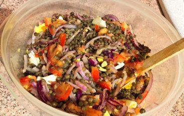 Salade de lentilles