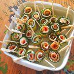IMG 2033 150x150 - Roulés apéritifs courgettes, fromage frais, saumon fumé