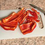 IMG 2088 150x150 - Clafoutis au chèvre, poivrons, jambon, tomates