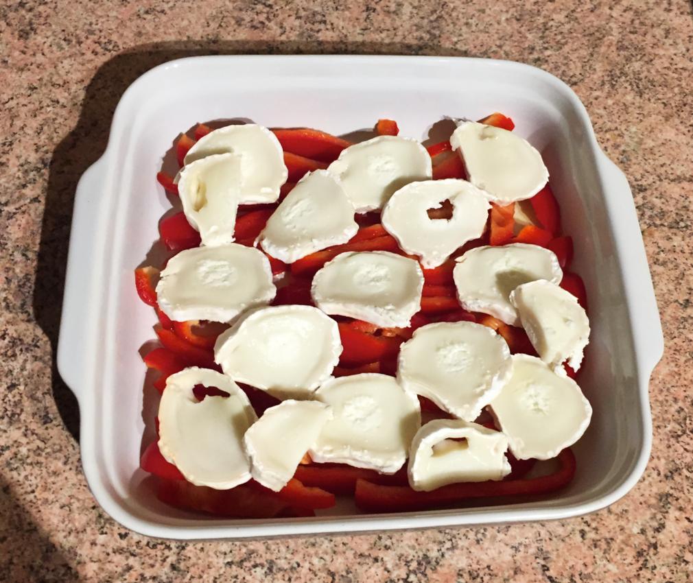 IMG 2090 - Clafoutis au chèvre, poivrons, jambon, tomates