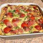 IMG 2096 150x150 - Clafoutis au chèvre, poivrons, jambon, tomates