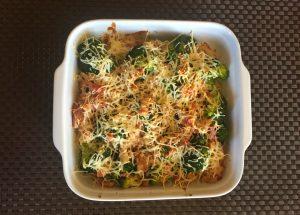 IMG 2445 300x215 - Gratin de brocolis aux lardons