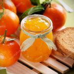 depositphotos 60621689 stock photo tangerine jam in glass jar 150x150 - Confiture de clémentines (Recette Companion)