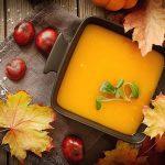 CuJ ROwUIAADlT5 150x150 - Soupe de potiron, marrons, oignons (Recette Companion)