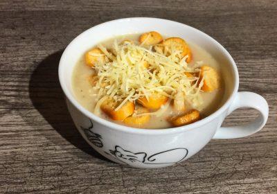 IMG 2741 400x280 - Soupe à l'oignon (recette Companion)