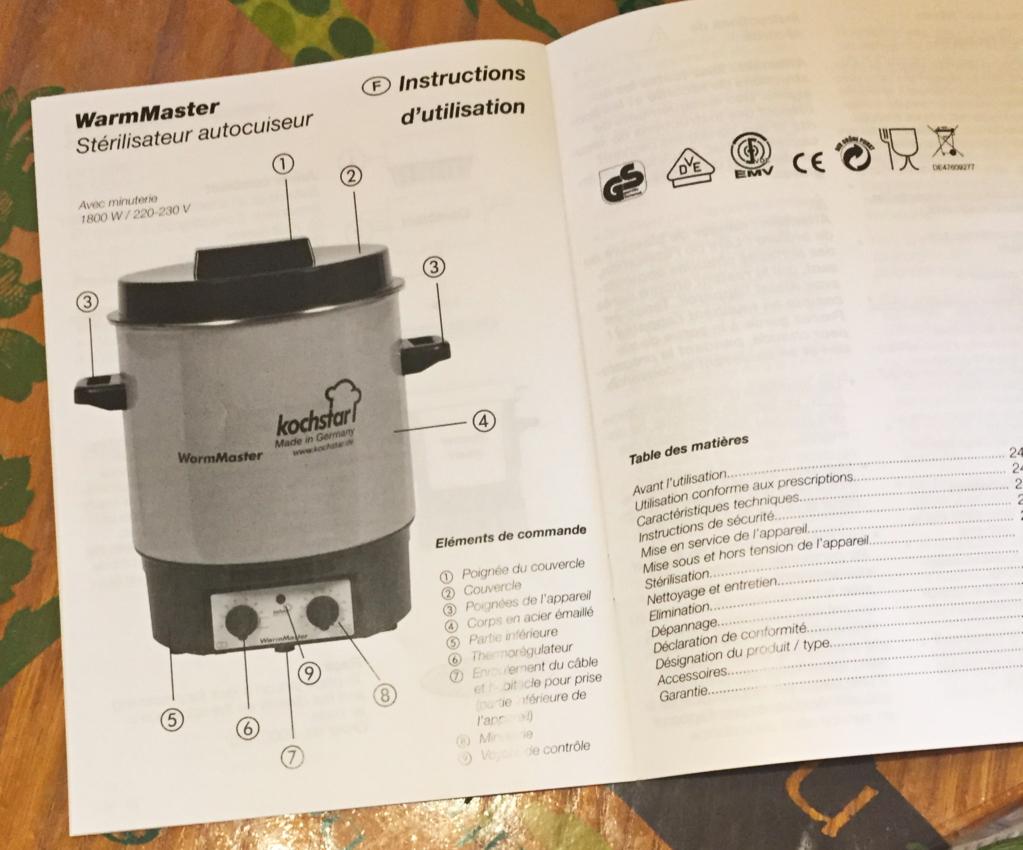 IMG 2992 - On a testé : Le stérilisateur électrique WarmMaster Kochstar