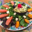 IMG 3771 105x105 - Aubergines farcies viande hachée, menthe, tomate, feta