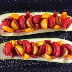 IMG 3849 150x150 - Courgettes au chorizo façon pizza