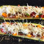 IMG 3850 150x150 - Courgettes au chorizo façon pizza