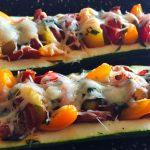 IMG 3852 150x150 - Courgettes au chorizo façon pizza