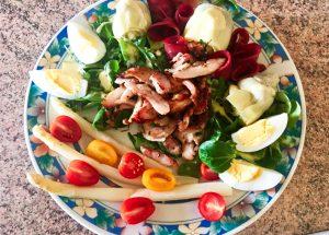 IMG 3369 300x215 - Salade Volaille & légumes