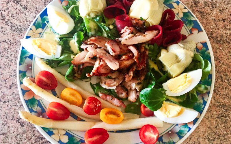 Salade Volaille & légumes