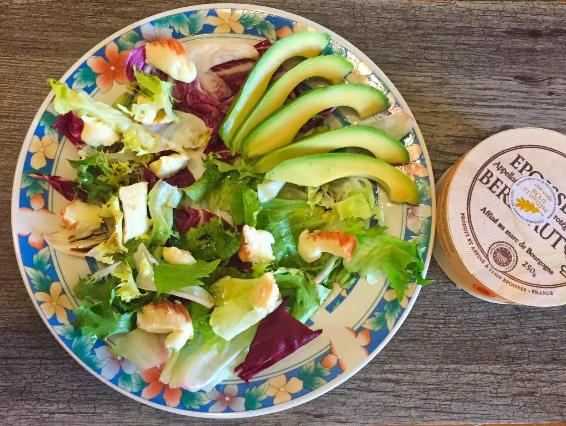 IMG 3485 - Salade boeuf, époisses, tomates et avocat