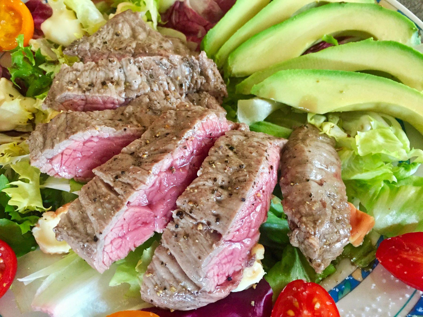 IMG 3499 - Salade boeuf, époisses, tomates et avocat