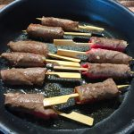 IMG 4085 150x150 - Yakitori boeuf fromage, salade tomate oeuf et carpaccio
