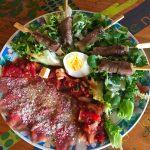 IMG 4086 150x150 - Yakitori boeuf fromage, salade tomate oeuf et carpaccio