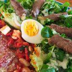 IMG 4087 150x150 - Yakitori boeuf fromage, salade tomate oeuf et carpaccio
