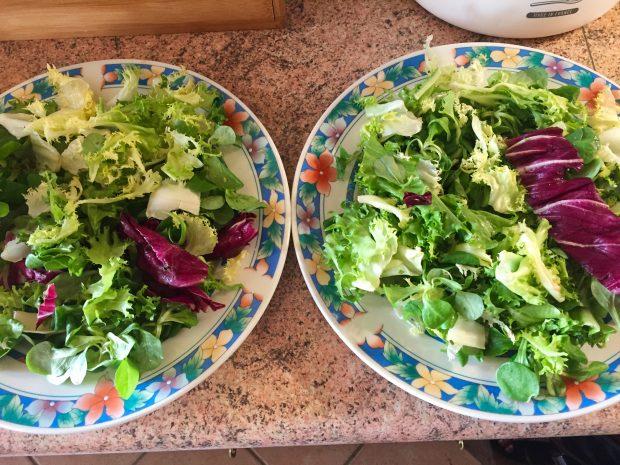 IMG 4090 620x465 - Salade poulet, bacon, tomate et artichaut