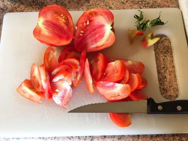 IMG 4091 620x465 - Salade poulet, bacon, tomate et artichaut