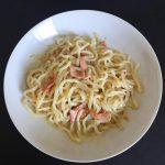 IMG 4111 150x150 - Nouilles de konjac à la crème et au bacon grillé