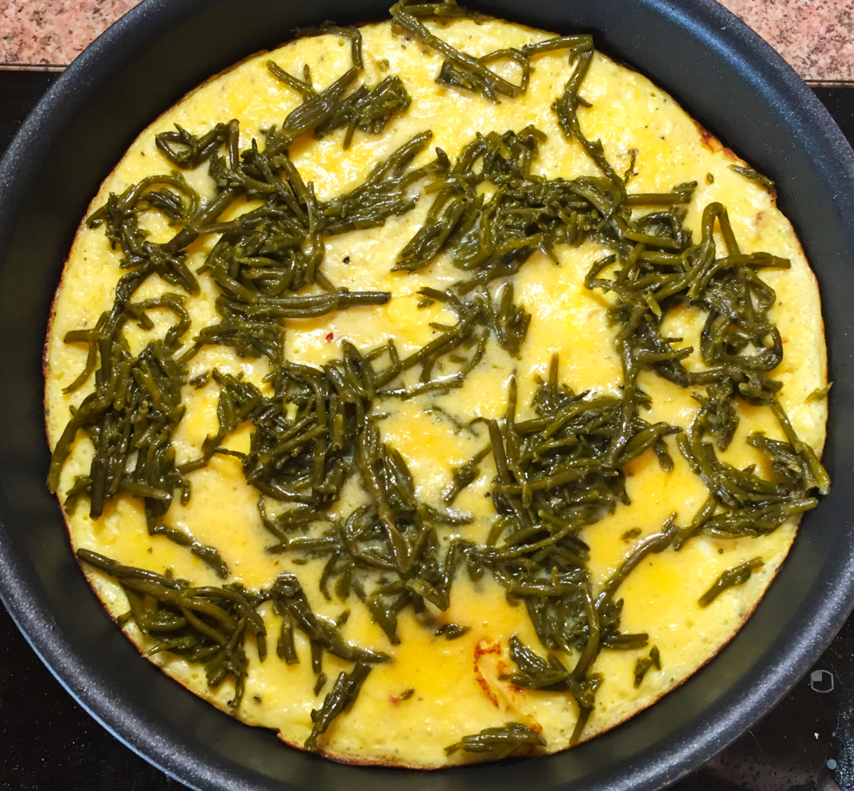 IMG 4122 - Omelette à la salicorne