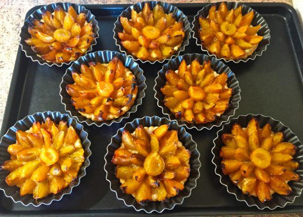 IMG 4205 620x444 - Tartelettes fines aux mirabelles